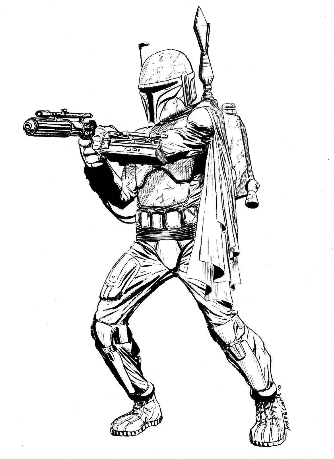 Coloriages à imprimer : Star Wars, numéro : 343f360c