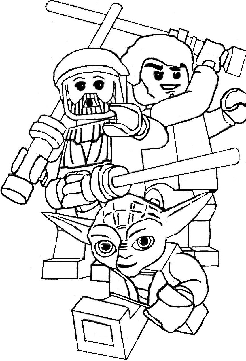 coloriage imprimer personnages clbres star wars numro 759778 - Dessin De Star Wars