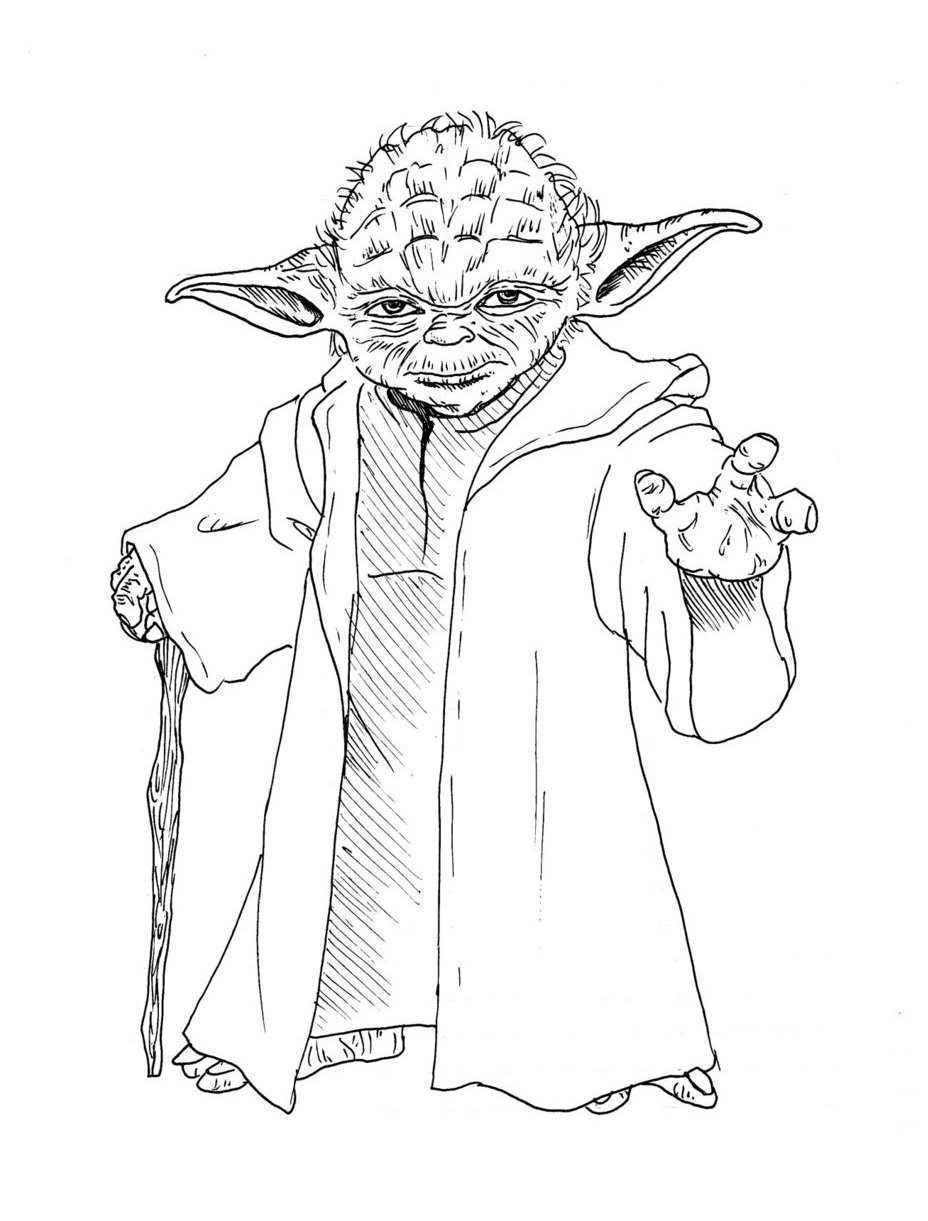 Coloriages à imprimer : Star Wars, numéro : 7ee8061f