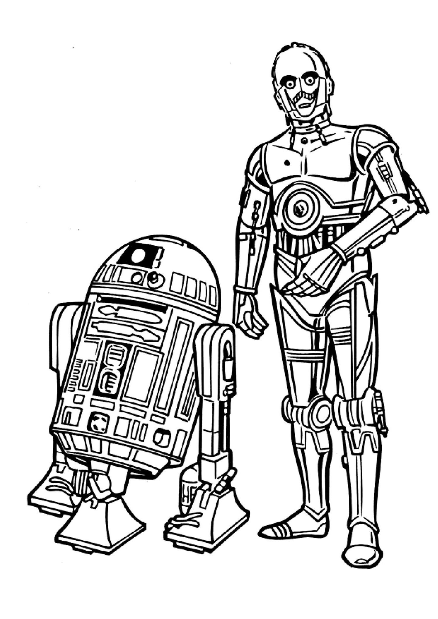 Coloriages à imprimer : Star Wars, numéro : 8326a807