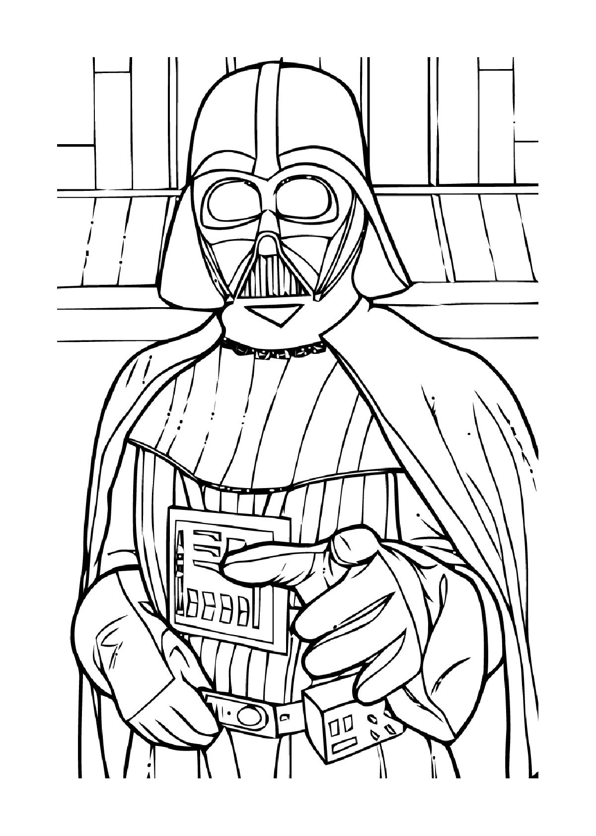 Coloriages à imprimer : Star Wars, numéro : a93bf1ba