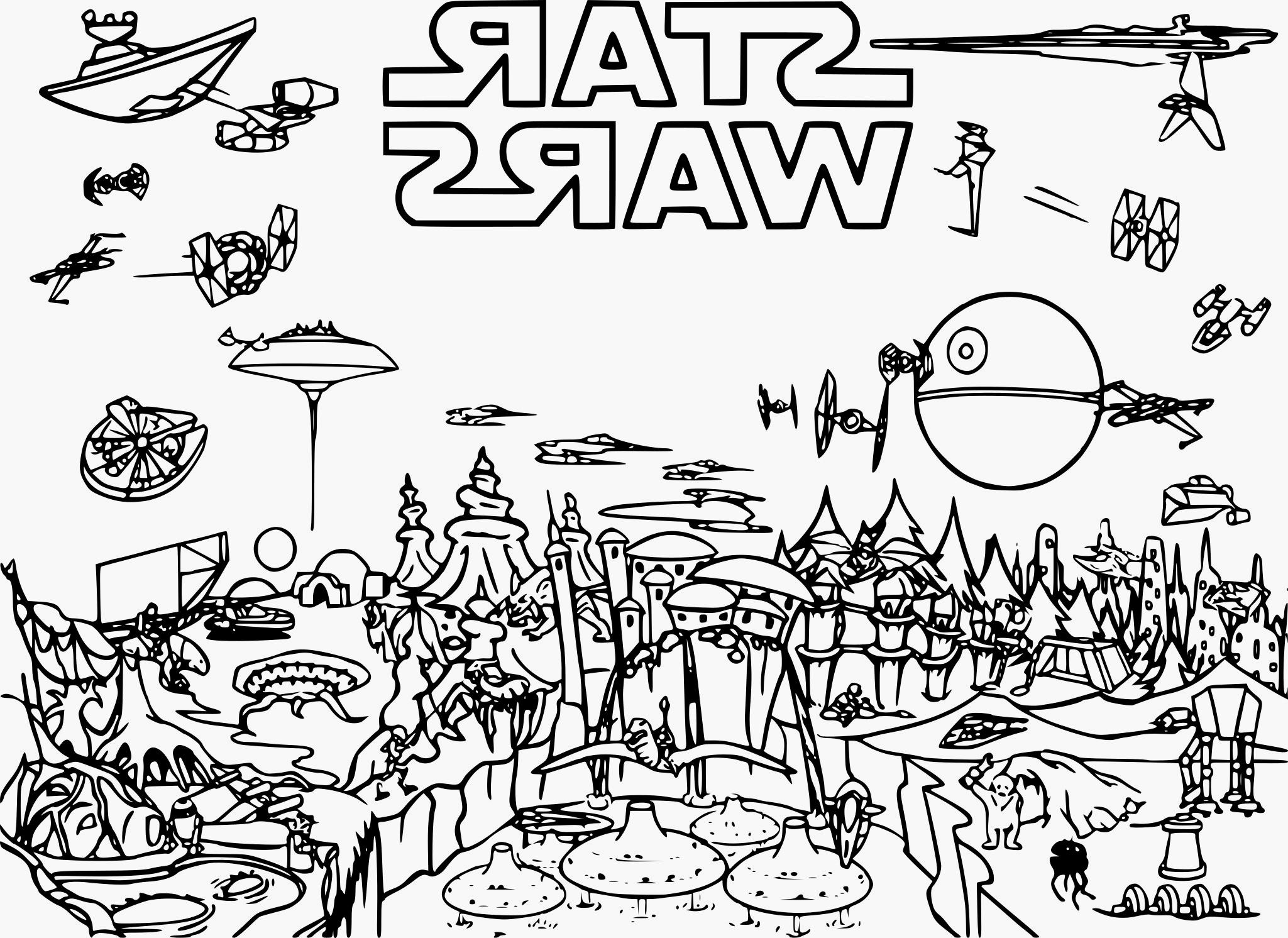 Coloriages à imprimer : Star Wars, numéro : cdb1bf06