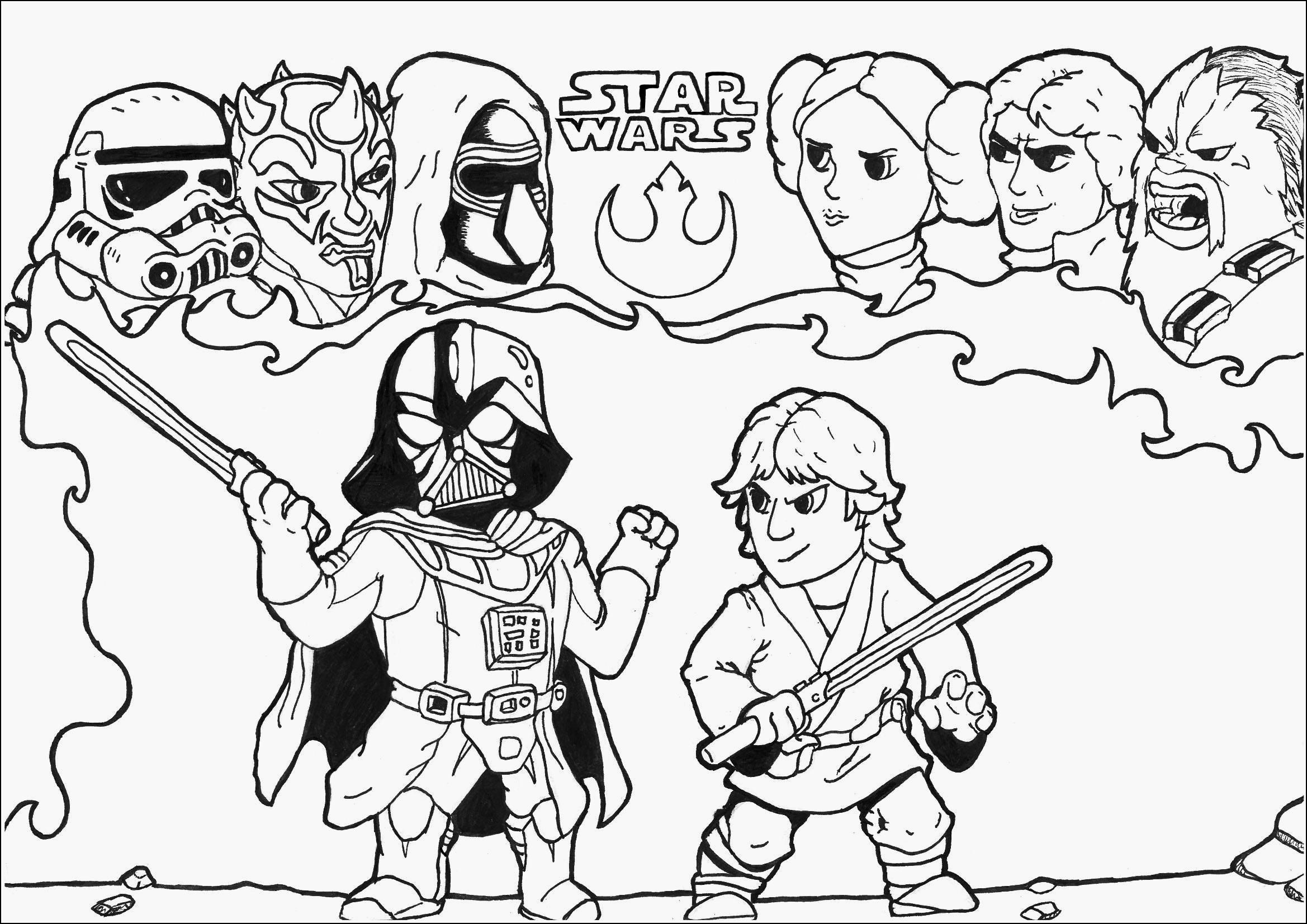 Coloriages à imprimer : Star Wars, numéro : f5d7603d