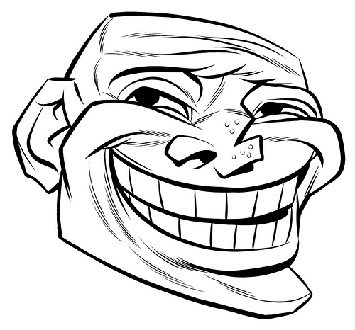 Coloriages à imprimer : Troll face, numéro : 28338