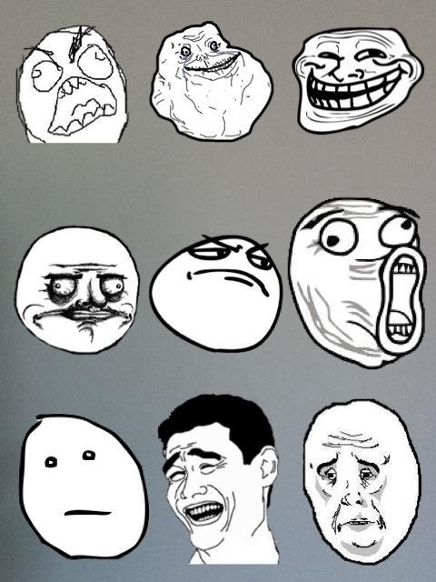 Dessins en couleurs à imprimer : Troll face me gusta ...