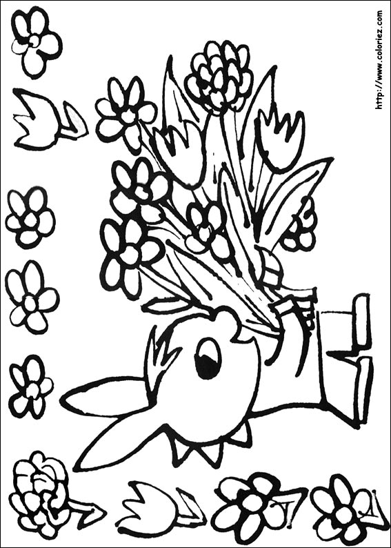 Coloriages à imprimer : Trotro, numéro : 17873