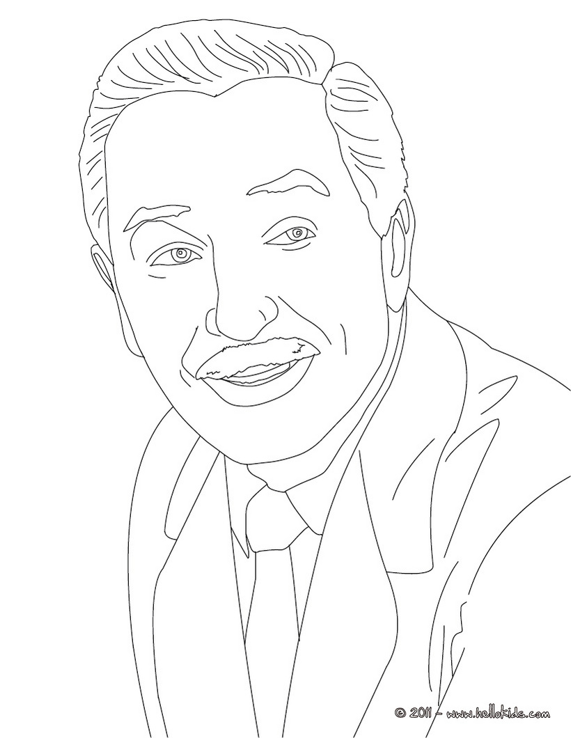 coloring pages of walt disney - photo#23
