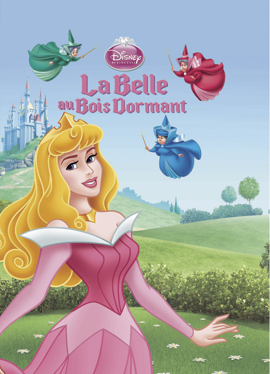Dessin en couleurs à imprimer  Personnages célèbres  ~ La Belle Au Bois Dormant Anglais