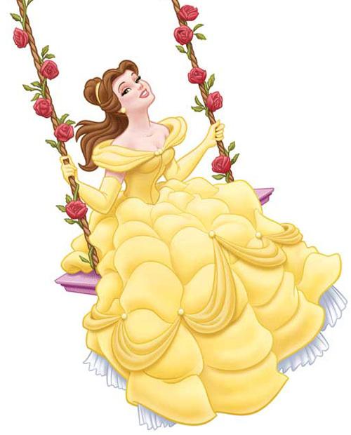 Dessins en couleurs imprimer la belle et la b te - Princesse de walt disney ...