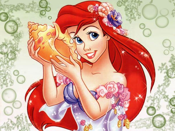 Dessins en couleurs imprimer la petite sir ne num ro - Dessin anime princesse ariel ...
