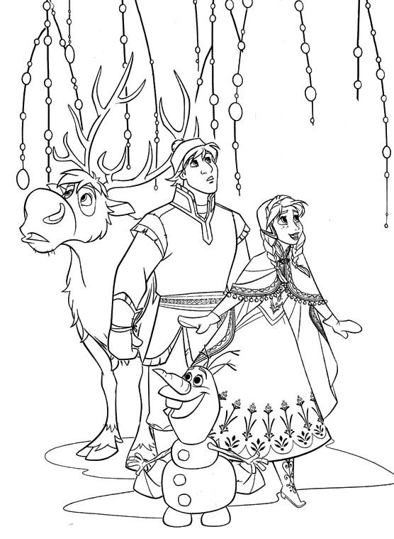 Coloriages à imprimer : La Reine des neiges, numéro : 671594
