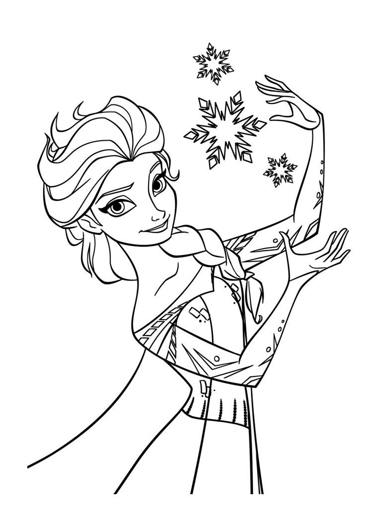 Coloriages imprimer la reine des neiges num ro 677763 - La reine de neige ...