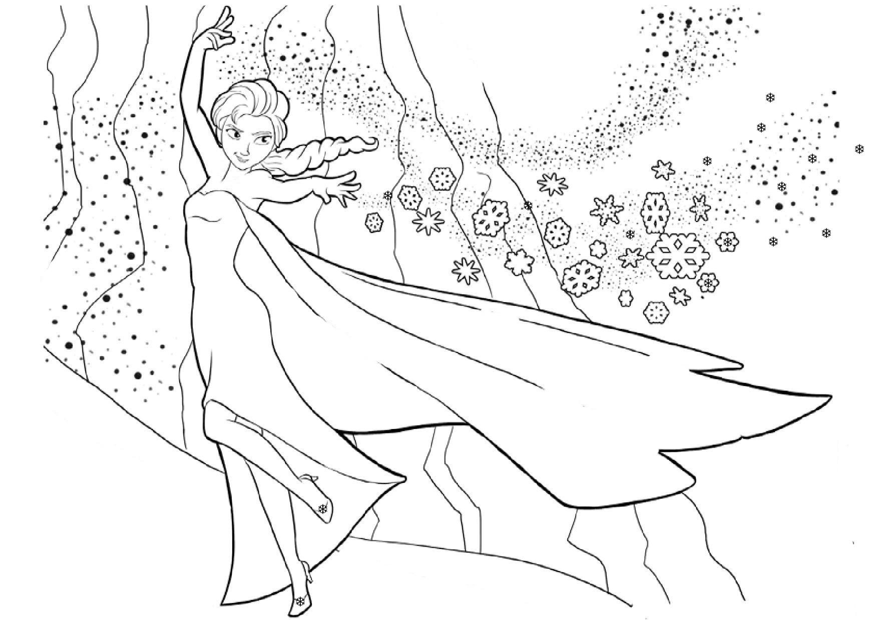 Coloriages imprimer la reine des neiges num ro 677765 - La rein de neige ...