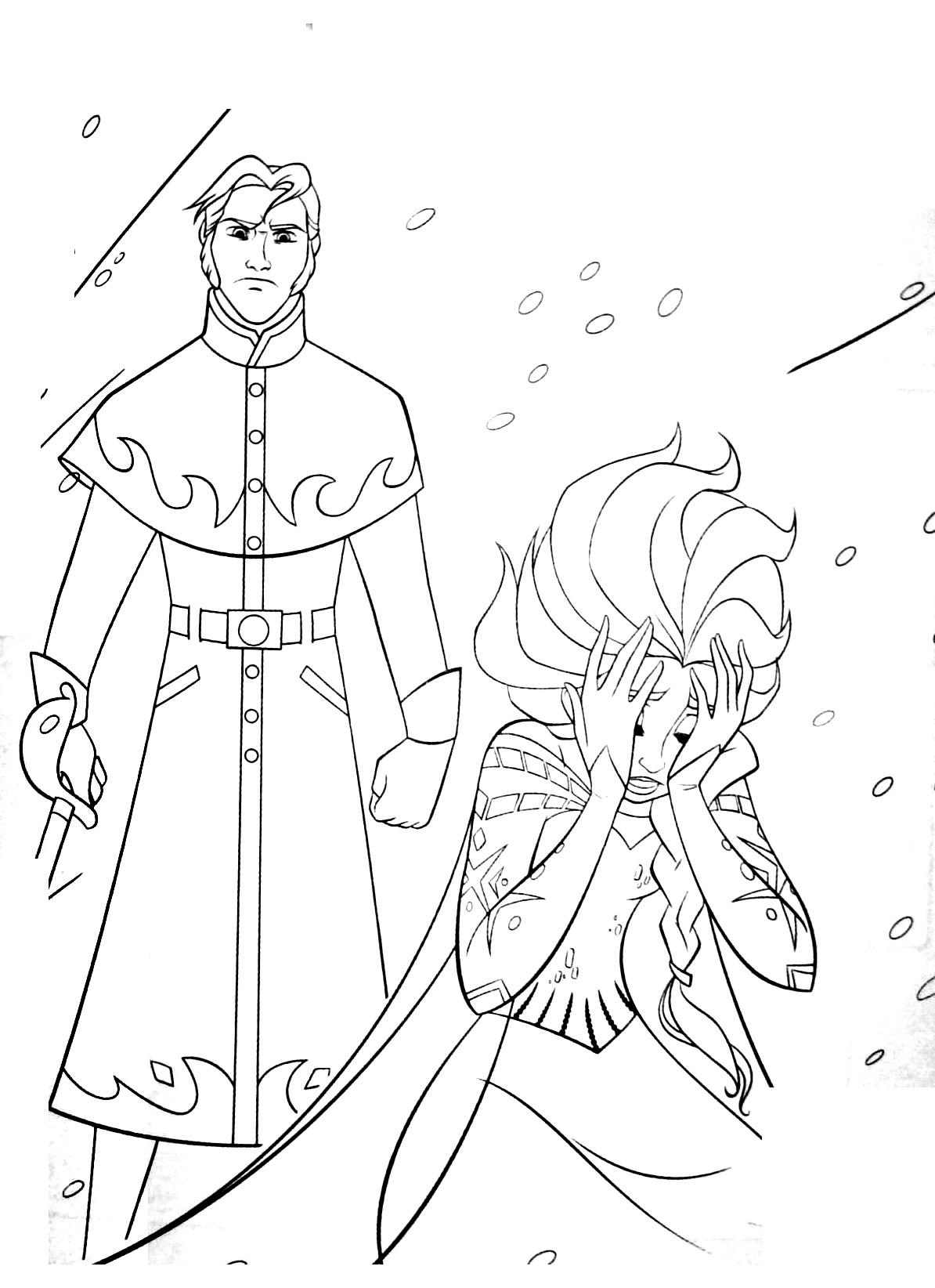 Coloriages imprimer la reine des neiges num ro 687286 - La ren des neige ...