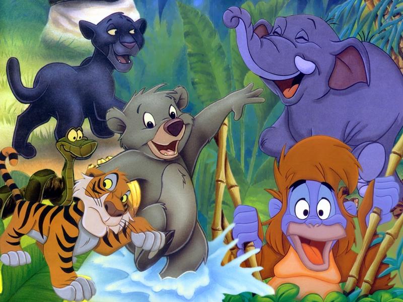 Dessins En Couleurs A Imprimer Le Livre De La Jungle