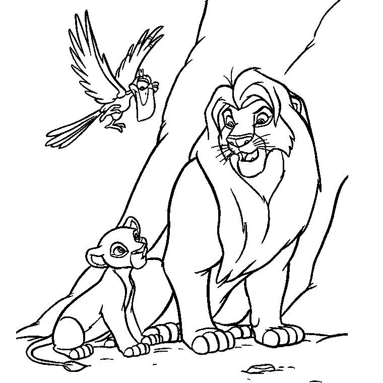 Coloriages à Imprimer Le Roi Lion Numéro 17812