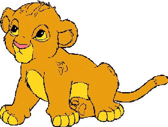 Dessin de lion en couleur banque dimages lion mignon - Animaux du roi lion ...