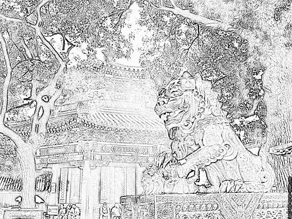 Imprimer le coloriage Le Roi Lion numéro