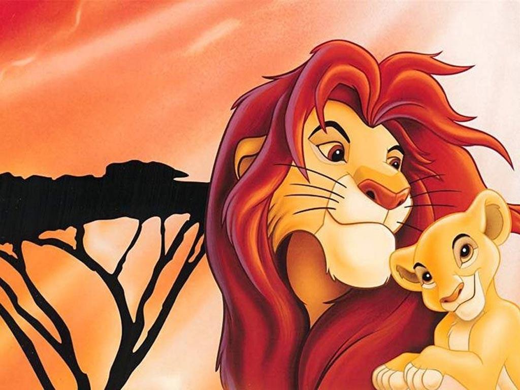 Imprimer le dessin en couleurs Le Roi Lion numéro