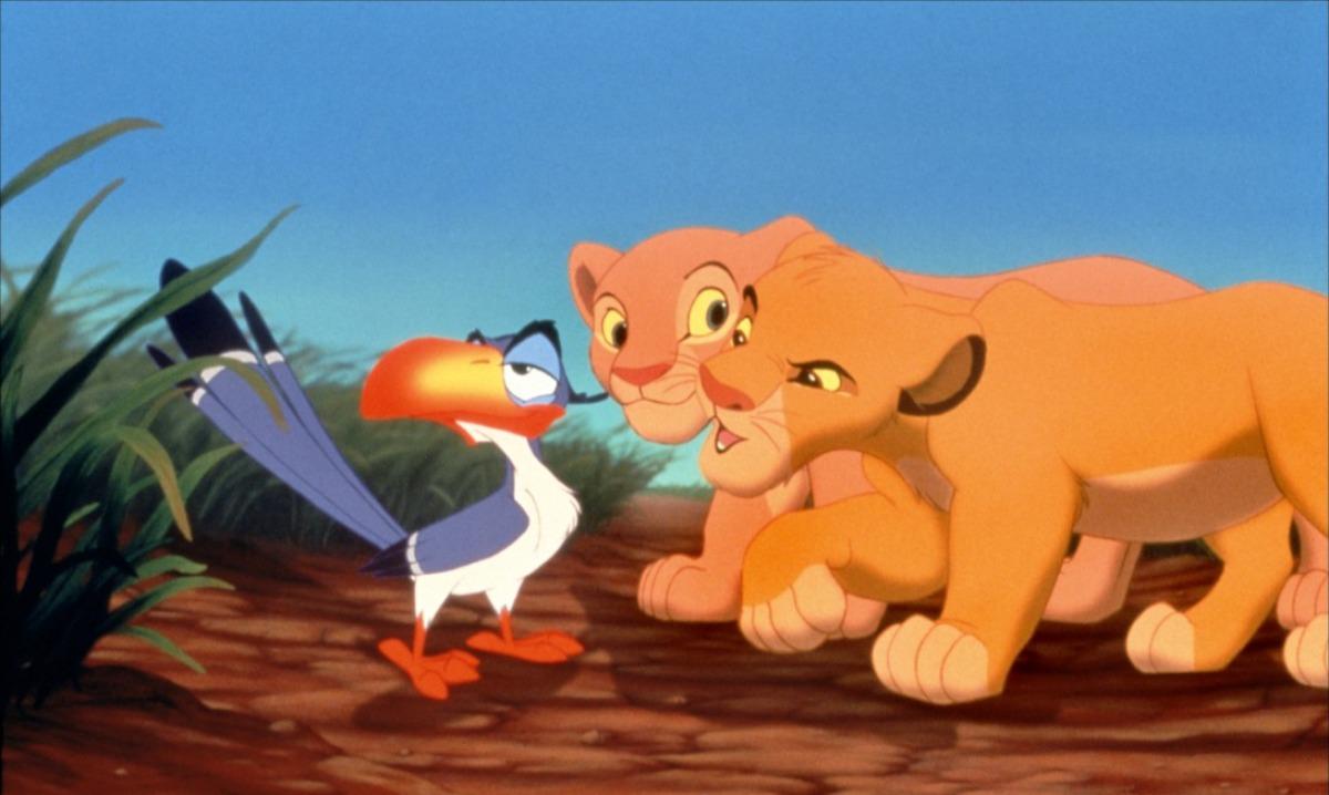 Dessin en couleurs  imprimer Personnages cél¨bres Walt Disney Le Roi Lion numéro