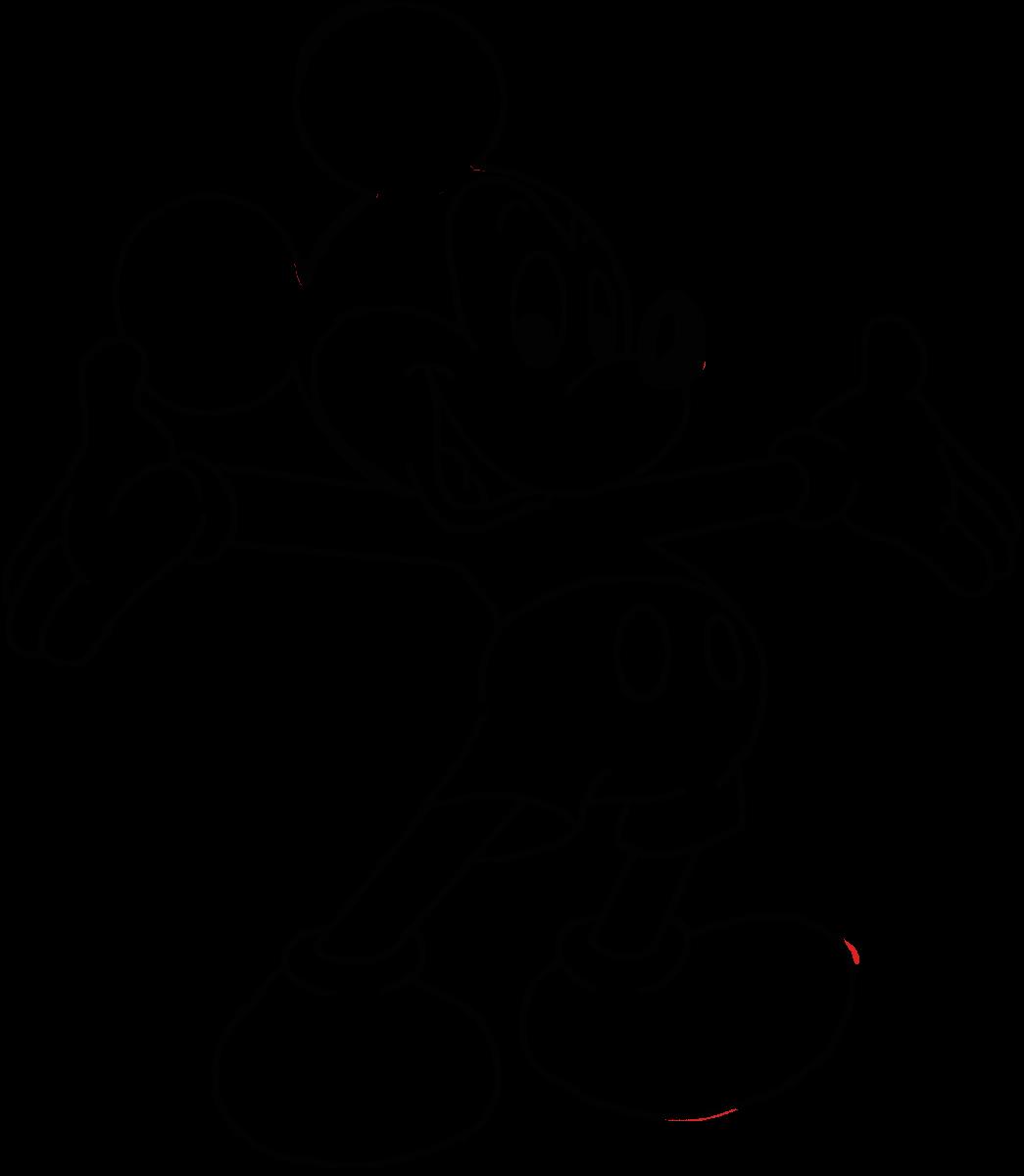 Coloriages à Imprimer : Mickey Mouse, Numéro : 129028
