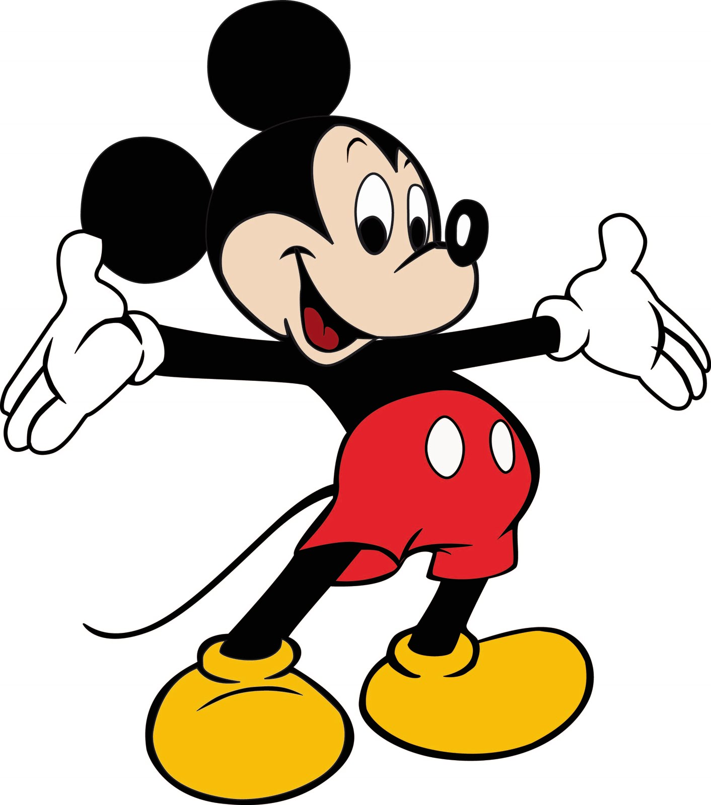 Dessins En Couleurs A Imprimer Mickey Mouse Page 1