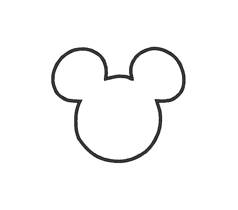 Coloriages imprimer mickey mouse num ro 3289 - Dessin tete de minnie ...