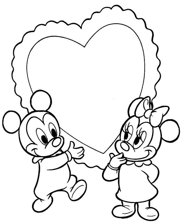 Coloriages A Imprimer Mickey Mouse Numero 7574