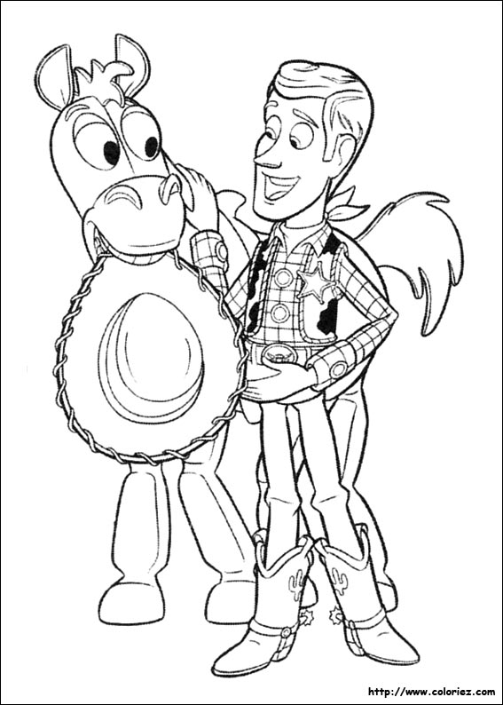 Coloriages imprimer Toy Story