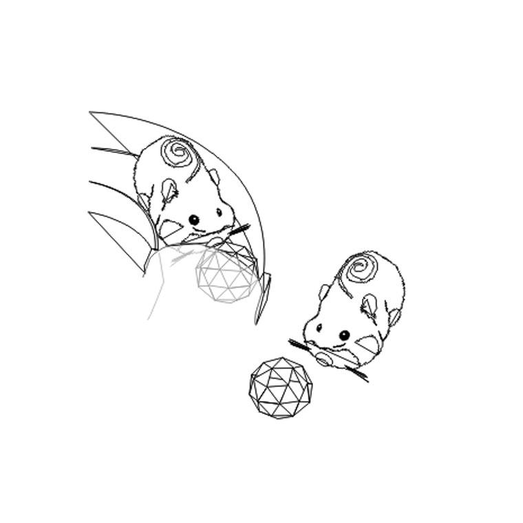 Coloriages à imprimer : Zhu Zhu Pets, numéro : 426252