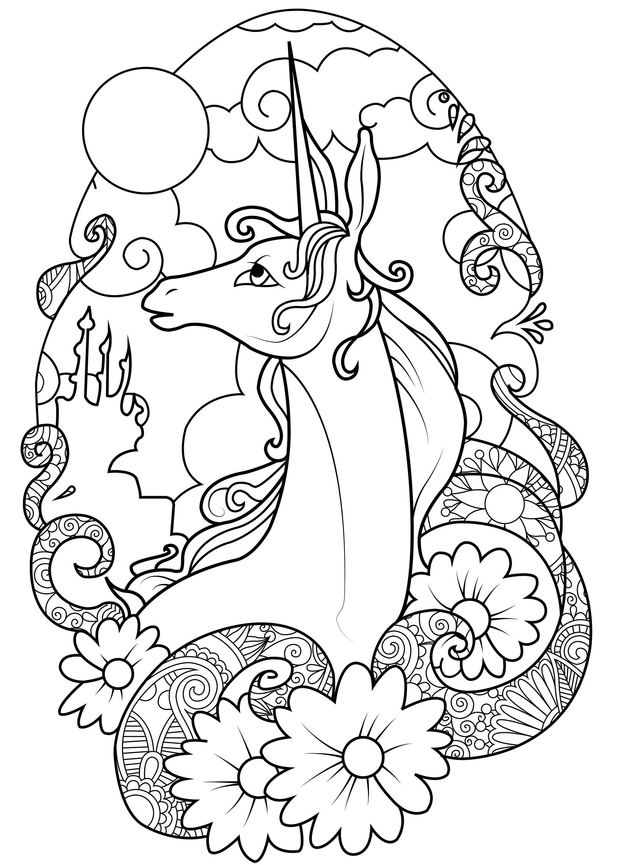 Coloriages à imprimer : Personnages féeriques, numéro : 6bef36be