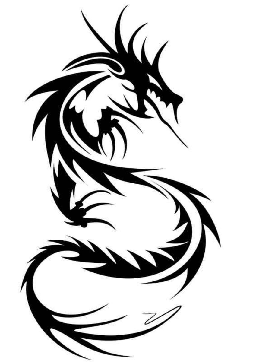 Coloriages à imprimer : Dragon, numéro : 127868