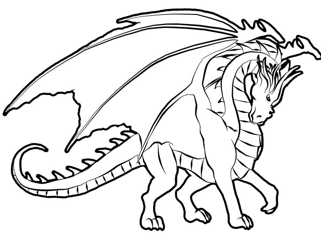 Coloriages à imprimer : Dragon, numéro : 157