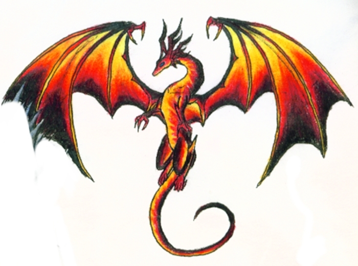 Dessins en couleurs imprimer dragon num ro 18705 - Dessin dragon couleur ...