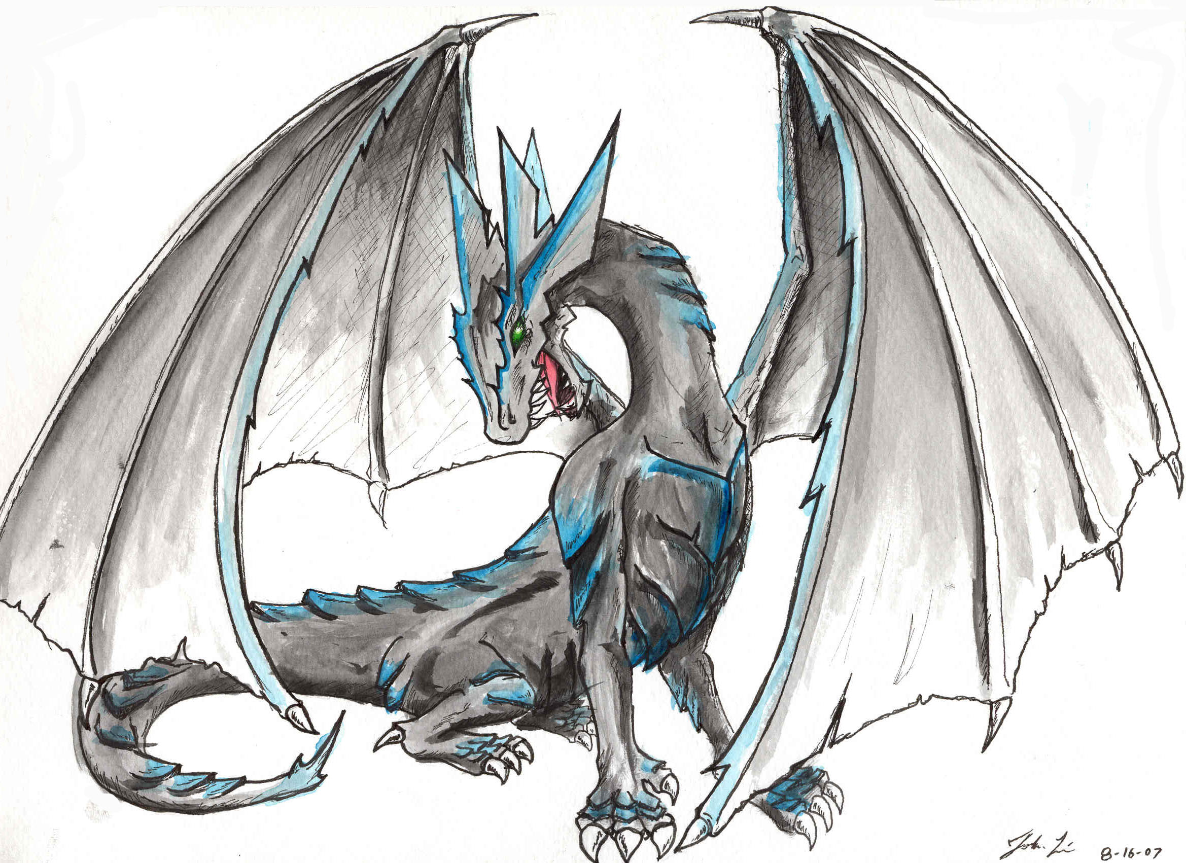Dessins en couleurs imprimer dragon num ro 364190 - Dessin dragon couleur ...