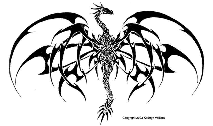 Coloriages à imprimer : Dragon, numéro : 4740