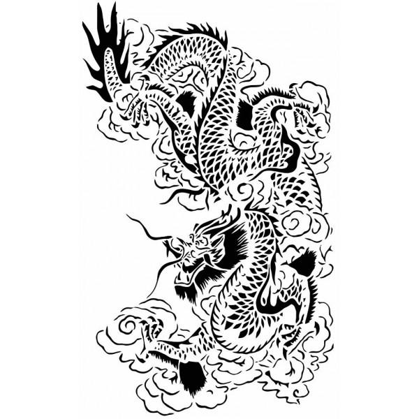 Coloriages à imprimer : Dragon, numéro : 4743