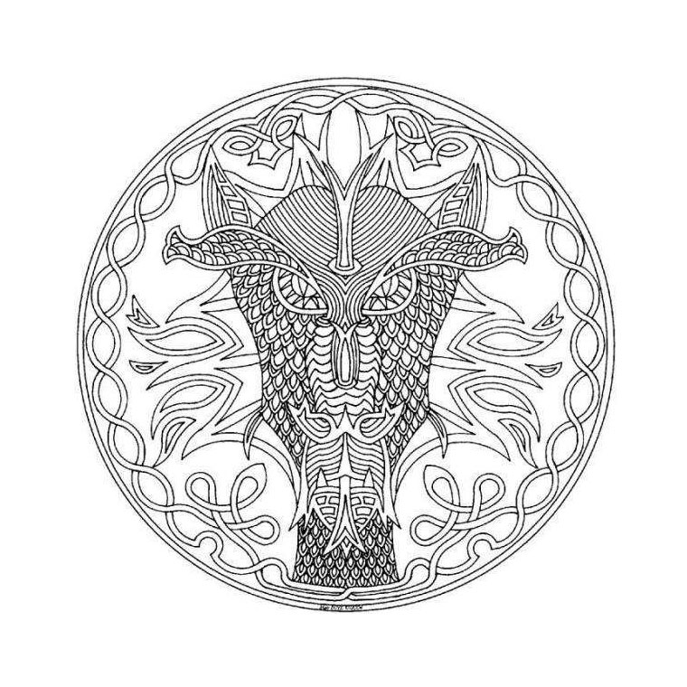Coloriages à imprimer : Dragon, numéro : 54135