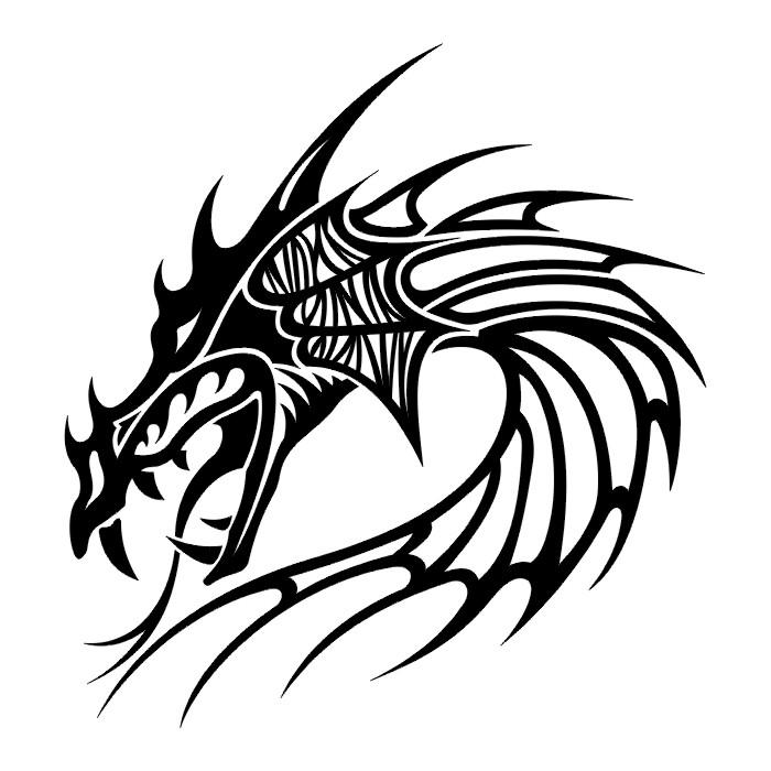 Coloriages à imprimer : Dragon, numéro : 5673