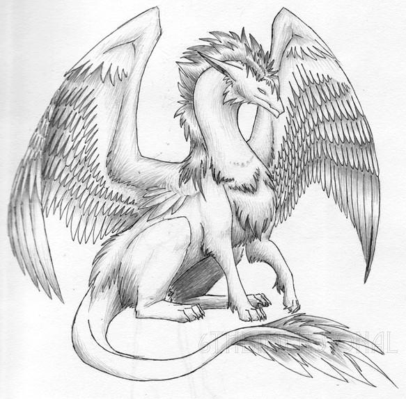 Coloriages à imprimer : Dragon, numéro : 754965