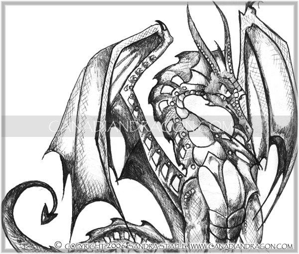 Coloriages à imprimer : Dragon, numéro : 8725