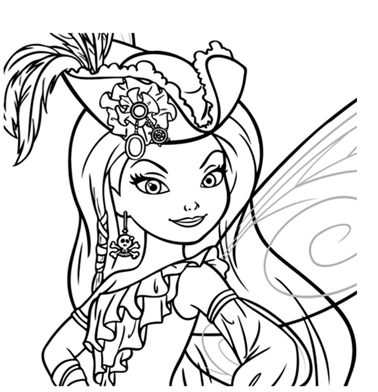 Coloriages imprimer f e clochette num ro 682639 - Fee coloriage ...