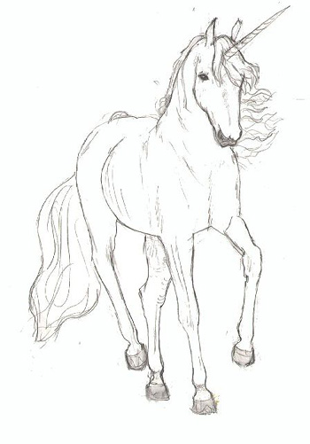 Dessins en couleurs à imprimer : Licorne, numéro : 20769