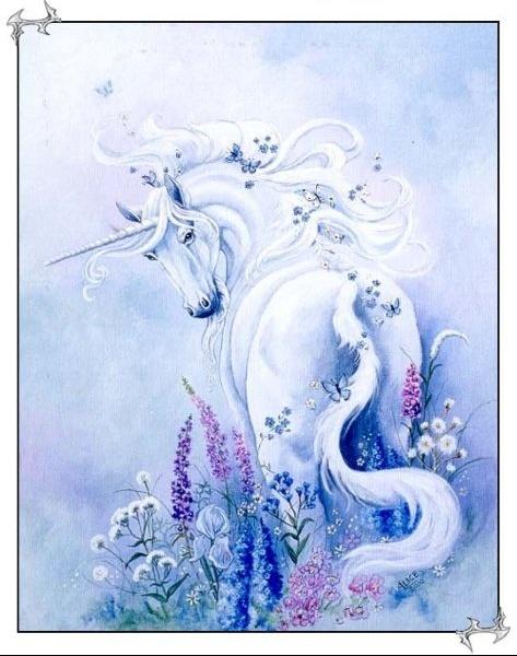 Dessins en couleurs à imprimer : Licorne, numéro : 20772