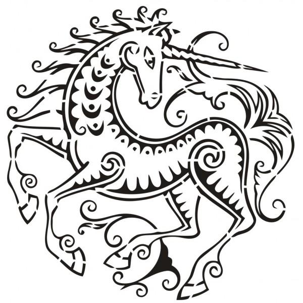 Dessins en couleurs à imprimer : Licorne, numéro : 20773