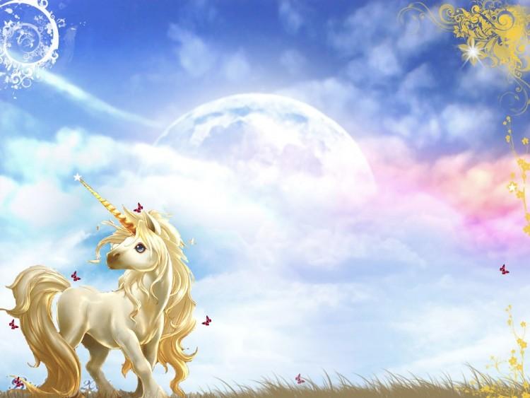 Dessin en couleurs à imprimer : Personnages féeriques - Licorne numéro 389695