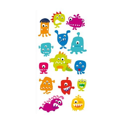Dessin en couleurs imprimer personnages f eriques - Images de monstres rigolos ...