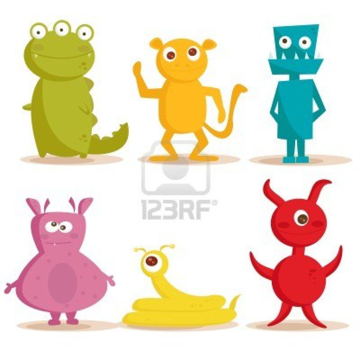 Monstres dessins couleur - Dessins monstres ...