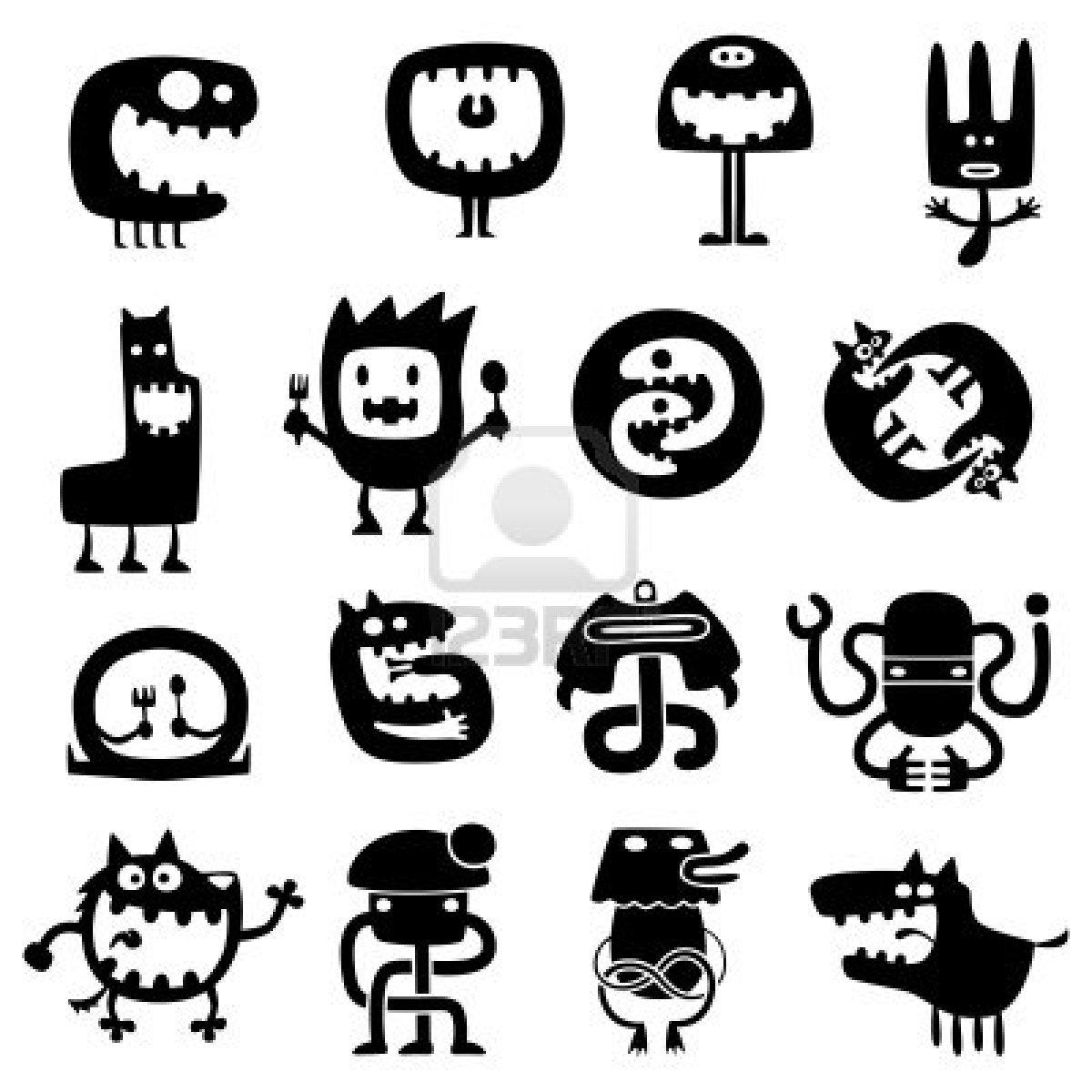 Coloriages à imprimer : Monstres, numéro : 209511