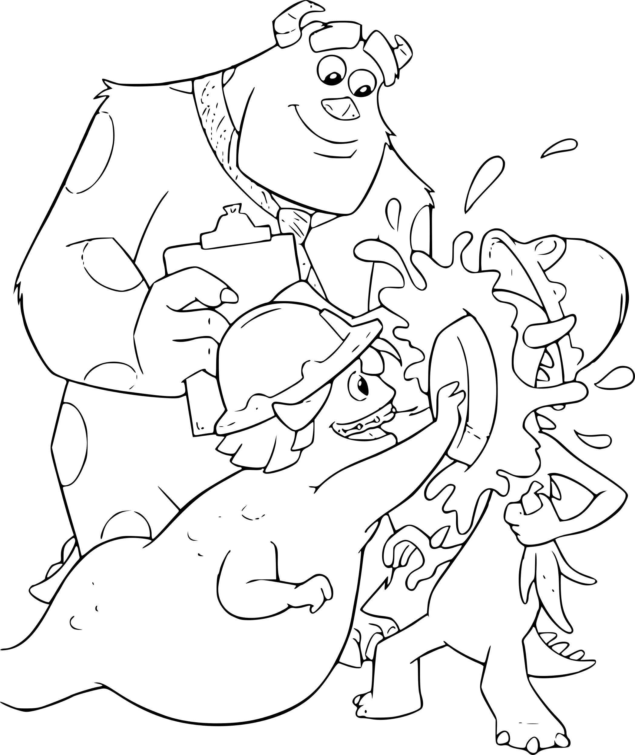 Coloriages à imprimer : Monstres, numéro : 259a887d